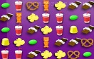美味零食對對碰遊戲 / Food Match Game