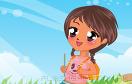 可愛學生裝扮秀遊戲 / Cute School Kid Game