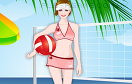 沙灘排球女孩遊戲 / Beach Volleyball Girl Dress Up Game