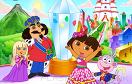 可愛朵拉找字母遊戲 / Cute Dora Hidden Alphabets Game