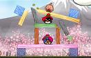 不憤怒的小鳥情人節選關版遊戲 / 不憤怒的小鳥情人節選關版 Game