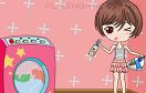 可愛女孩洗衣服遊戲 / 可愛女孩洗衣服 Game