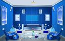 逃出藍色現代客廳遊戲 / 逃出藍色現代客廳 Game