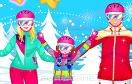 滑雪的一家遊戲 / 滑雪的一家 Game