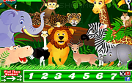 動物園找數字遊戲 / Jungle Hidden Numbers Game