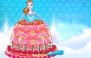 冰雪公主蛋糕裝飾遊戲 / 冰雪公主蛋糕裝飾 Game