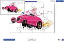 粉色小汽車拼圖遊戲 / Pink Panther Car Game