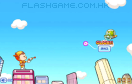 保衛摩天大樓遊戲 / UFO Shooting Girl Game